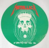 Metallica - 'In Vertigo You Will Be' Sticker